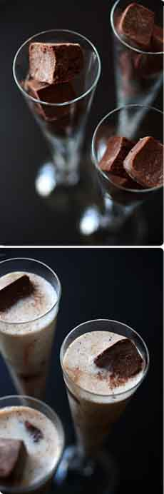 Chocolate Ice Cubes