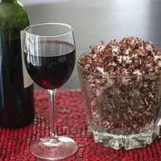 Chocolate Popcorn Red Wine