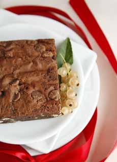 Chocolate Pretzel Brownie