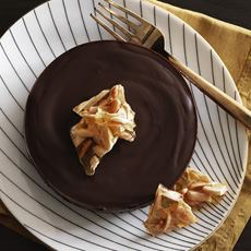Chocolate Tart With Brittle