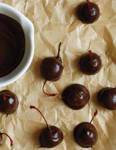 Chocolate Dipped Cherries