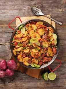 Potato Paella