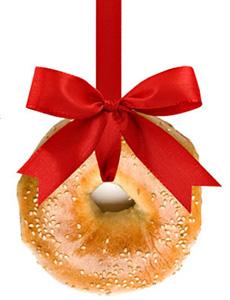 Bagel Tree Ornament
