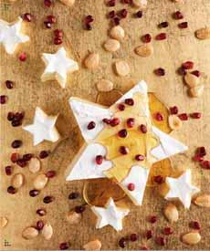 Brie Cheese Star