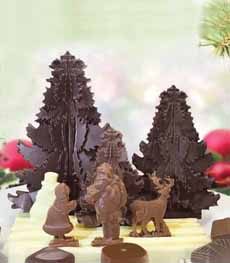 Michel Cluizel Christmas Chocolate