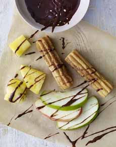 Churros With Chocolate Fondue