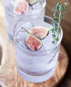 Fig Cocktail Garnish