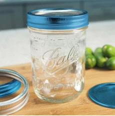 Ball Jar Clear Lid