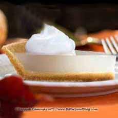 Semi-Clear Pumpkin Pie