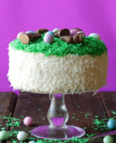 Coconut Easter Layer Cake