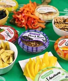 Lantana Hummus Crudites