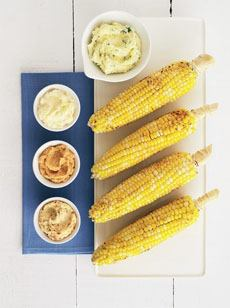 Corn On The Cob With Flavored Butter