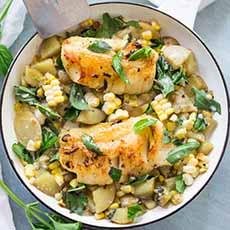 Corn Chowder With Fish