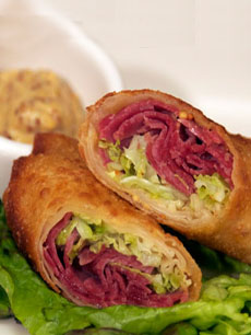 ST. PATRICK'S DAY: Corned Beef & Cabbage Egg Rolls Recipe - THE ...