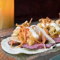 Corned Beef & Cabbage Tortillas