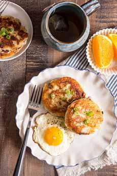 Corned Beef Hash & Eggs