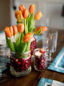 Cranberry Flower Arrangements