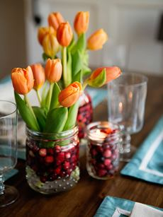 Cranberry Flower Arrangements
