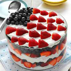 July 4th Trifle Dessert