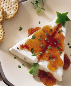 Brie Cheese Christmas Tree