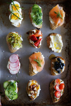Tea Party Crostini