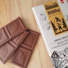 Milkboy Milk Chocolate With Crunchy Caramel