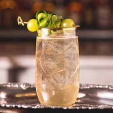 Cucumber Cocktail Garnish