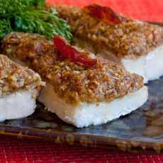 Fish-Crusted Dates