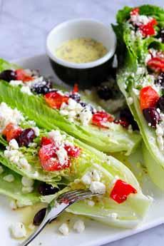 Deconstructed Greek Salad