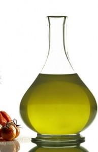 Green-Hued Olive Oil