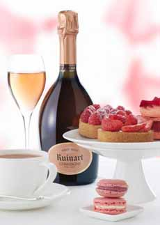 Rose Champagne With Dessert