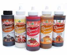 Dessert Sauce Squeeze Bottles