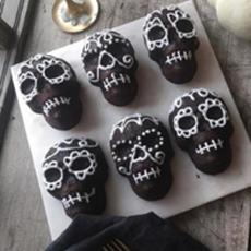 Skull Cakes Nordicware