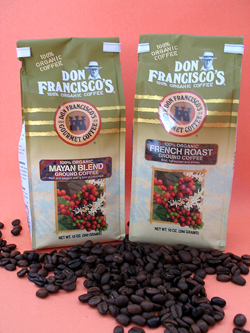 Don Francisco's, one of the top organic coffees in our review.