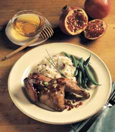 Roast Duck With Honey Glaze