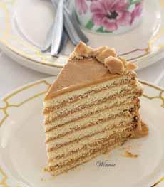 Dulce de Leche Layer Cake