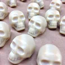 White Chocolate Skulls