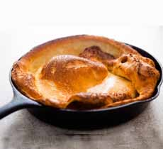 Dutch Baby In Cast Iron Skillet