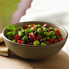 Green Salad With Edamame