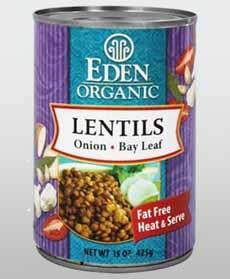 Eden Organic Lentils