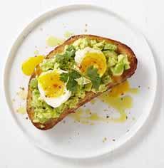 Avocado & Egg Crostini