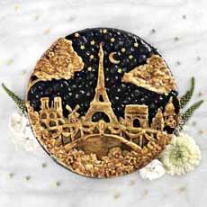 Eiffel Tower Pie