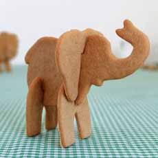 Elephant Cookie