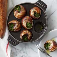 Escargots In Shell