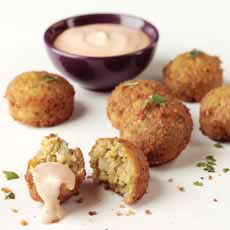 Falafel Balls With Dip
