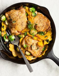 Chicken & Fall Vegetables