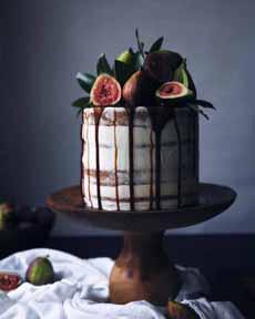 Naked Cake Fresh Figs