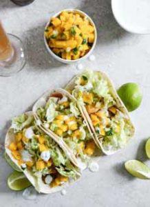 Fish Mango Tacos