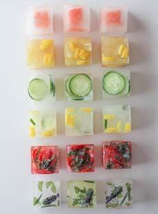 Designer Ice Cubes