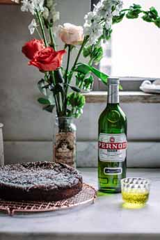 Flourless Chocolate Cake - Pernod